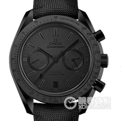 V6欧米茄超霸系列月之暗面瑞士7750全自动机械机芯透底尼龙表带运动计时男士手表