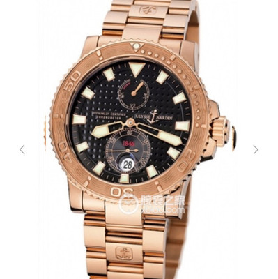 N雅典潜水系列266-33航海男士腕表手表