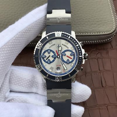 N雅典潜水系列8003-102-7/91航海男士手表腕表