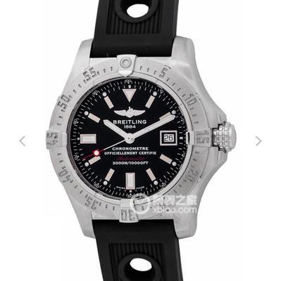 GF百年灵复仇者二代深潜海狼腕表(AvengerIISeawolf),45毫米超凡坚固的精钢表壳配备与原装一致的安全减压阀,男士手表,硅胶表带,自动机械机芯,密底
